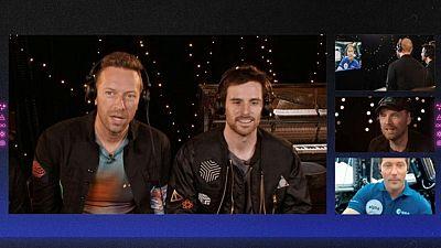 """Coldplay lanza el nuevo sencillo """"Higher Power"""" al espacio"""