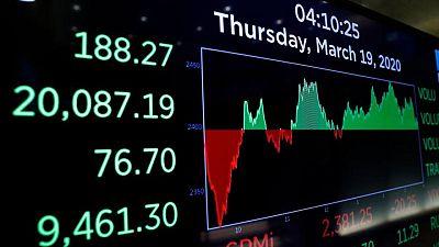 بورصة وول ستريت  تغلق بلا تغير يذكر مع صعود أسهم الطاقة وتراجع الرعاية الصحية