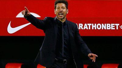 Simeone no cambiará su plan de juego para el crucial encuentro con el Barça