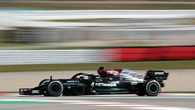 Hamilton es el más rápido en las prácticas libres para el GP de España