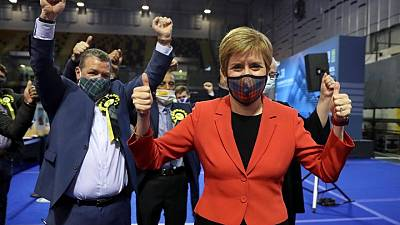 Crucial Scottish elections on 'knife edge' as pro-independence SNP win early seats
