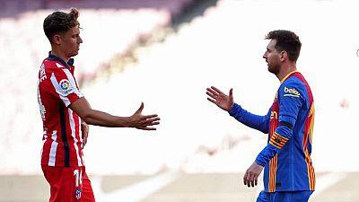 Barcelona y Atlético Madrid empatan y le otorgan una ventaja al Real Madrid