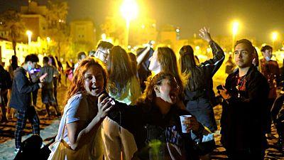 'Freedom' fiestas: Spaniards celebrate end of COVID curfew