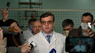 El médico siberiano que trató al opositor ruso Navalny desaparece: policía