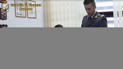 Scovato da Gdf in Calabria, sequestrati beni per 160 mila euro