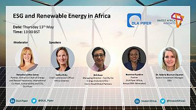 Invest Africa and DLA Piper partner to support ESG best practice in African renewable energy projects