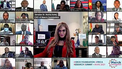 Merck Foundation brings 26 African Ministers together to Empower Women and Youth in STEM through their online Merck Africa Research Summit (MARS) in partnership with African Union