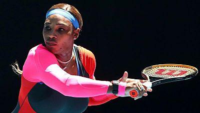 Tenista Serena Williams está lista para volver a la arcilla luego de intenso entrenamiento