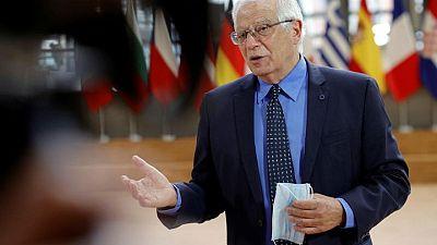 الاتحاد الأوروبي يدعو للتهدئة بعد اشتباكات بين الإسرائيليين والفلسطينيين