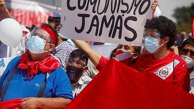 Peru's sol soars as socialist Castillo loses ground to right-wing Fujimori