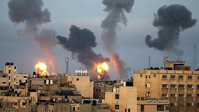 Palestinian rocket fire, Israeli strikes in Gaza run into second day