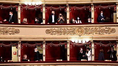 La Scala de Italia reabre al público después de seis meses de cierre por la pandemia