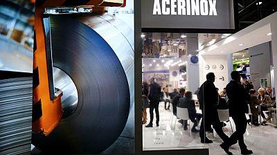 Acerinox espera un mayor beneficio en el segundo trimestre debido a mayor demanda de acero