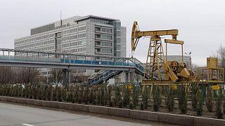 هبوط إنتاج قازاخستان النفطي إلى 1.465 مليون ب/ي في يونيو