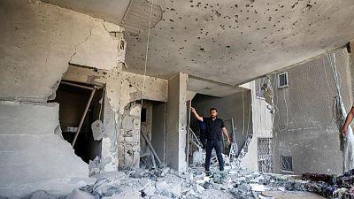 Arab League chief condemns Israeli air strikes on Gaza