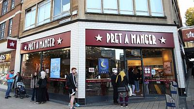 Pret A Manger to open in Tesco stores in post-pandemic shift