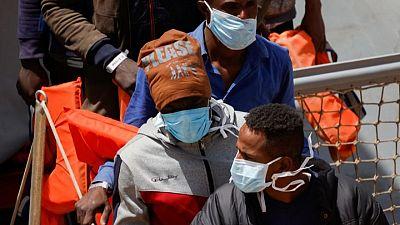 Dozens of migrants land in Malta after sea rescue