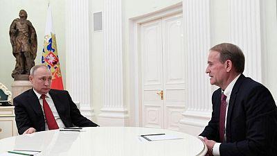 Ukraine advances treason case against Kremlin ally, reports say
