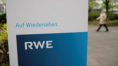Hit by weather, RWE's core profit falls a third in Q1