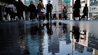 Japan's coincident index rises in March