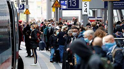 معهد: ألمانيا تسجل 14909 إصابات جديدة بفيروس كورونا