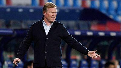 Koeman acepta que se cuestione su futuro en el Barça tras el varapalo del Levante
