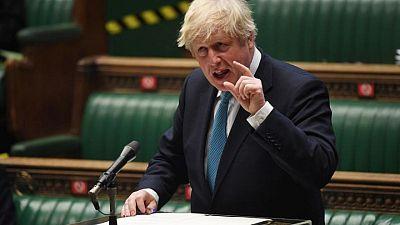 رئيس وزراء بريطانيا يحث إسرائيل والفلسطينيين على ضبط النفس