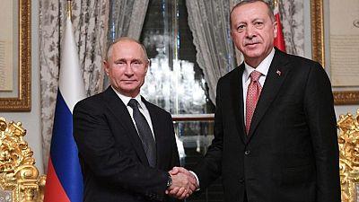 الرئاسة التركية: أردوغان وبوتين يناقشان الوضع في القدس في اتصال هاتفي