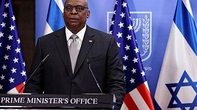 """وزير الدفاع الأمريكي يؤكد دعمه """"الراسخ"""" لإسرائيل في مكالمة مع نظيره"""