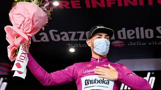 Nizzolo takes the Giro d'Italia maglia ciclamino after nailbiting second on stage 5