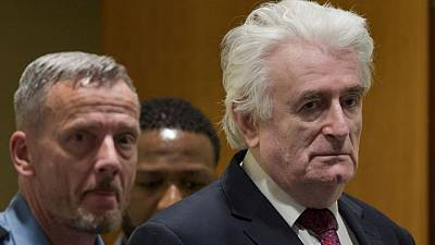 Britain says ex-Bosnian Serb wartime leader Karadzic to serve jail term in UK