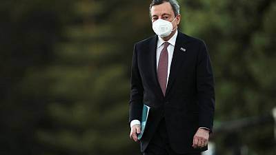 Italy's Draghi calls for U.S. and UK to lift block on COVID vaccine exports
