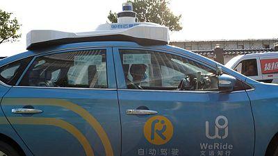 Nissan-backed autonomous startup WeRide raises new funds, at $3.3 billion valuation