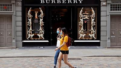 Burberry says recovery from COVID-19 accelerating