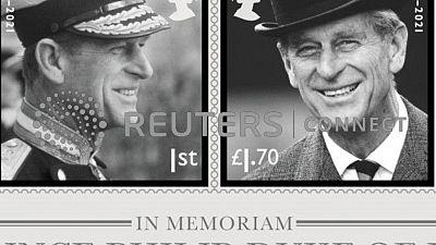 Nuevos sellos del Royal Mail presentan diferentes estilos del príncipe Felipe