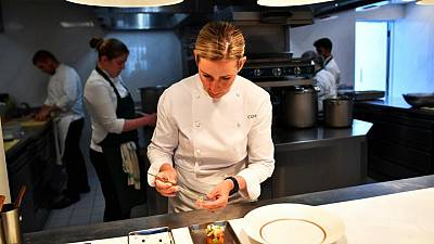 London is open: Michelin chef Smyth hails survival of toughest year