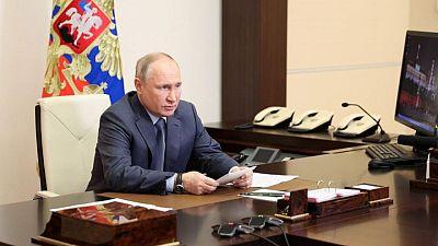الكرملين: بوتين وجوتيريش يدعوان إلى إنهاء العنف بين إسرائيل والفلسطينيين