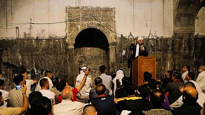Eid prayers return to Mosul mosque ruined in Islamic State war