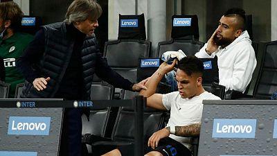 Conte y Lautaro Martínez ajustan cuentas con un combate amistoso de boxeo