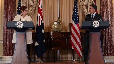 بلينكن: أمريكا لن تترك أستراليا وحدها في مواجهة الإكراه الاقتصادي الصيني