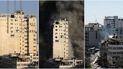 في غزة.. إسرائيل تمهد لهدم المباني بمكالمة هاتفية