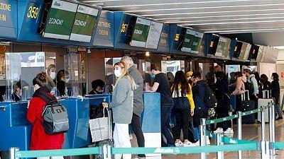 Italia levanta la cuarentena para viajeros de la UE, Reino Unido e Israel