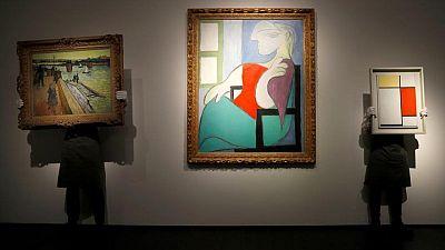 لوحة زيتية لبيكاسو تباع بأكثر من مئة مليون دولار في مزاد بنيويورك
