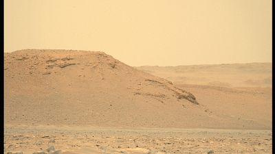Sulle dune di Utopia Planitia in contatto con la Terra