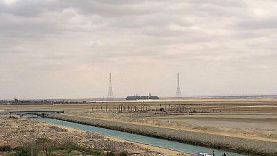 Suez Canal starts dredging work to extend double lane - statement