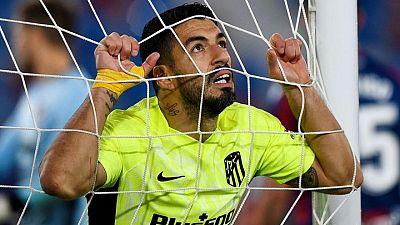 Simeone anima a Suárez a poner fin a su sequía y conducir al Atlético al título de La Liga