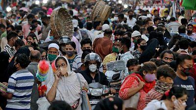 الهند تسجل 127510 إصابات جديدة بكورونا في أقل زيادة يومية منذ 8 أبريل