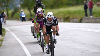 Campenaerts 7th after impressive breakaway effort on stage 8 of Giro d'Italia