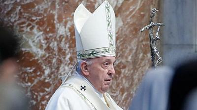 Do not give into to evil and division, Pope tells Myanmar community