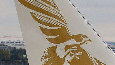 """""""حادث بسيط"""" لطائرة تابعة لطيران الخليج بمطار دبي"""